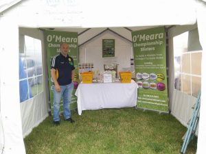 We're at the Tullamore Show!
